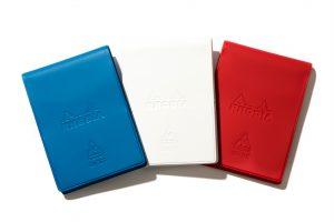 ルコックスポルティフのアイテムを¥5,000(税別)以上購入した人には、ブランドのテーマカラーであるトリコロールカラーを配色した「ロディア オリジナルメモ帳」を一冊プレゼント。 ※ノベルティは無くなり次第終了